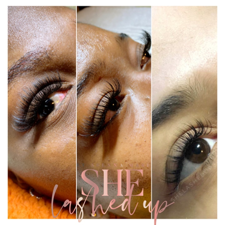 NEW YEAR 2021 Lash Extension Group Training image