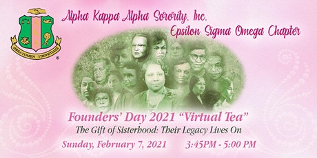 2021 Founders' Day Alpha Kappa Alpha Sorority, Inc., Epsilon Sigma Omega tickets