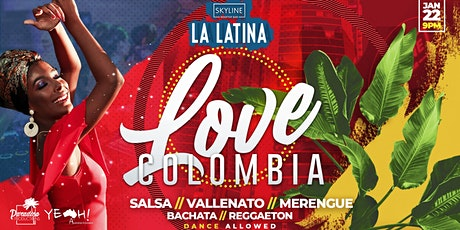 La Latina Love Colombia tickets