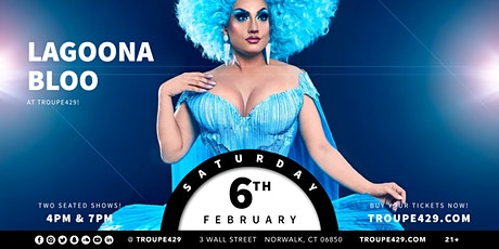 """Lagoona Bloo from """"The Voice"""" drag show at Troupe429 - SAT FEB 6 (7PM) tickets"""