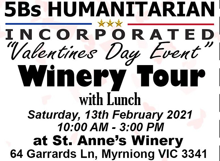 5Bs Humanitarian Incorporated Valentines Day Event image