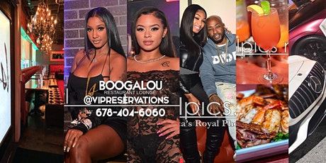 DAY PARTY ALERT! Celebrity Sunday's At BOOGALOU LOUNGE WITH SWINGS & HOOKAH tickets