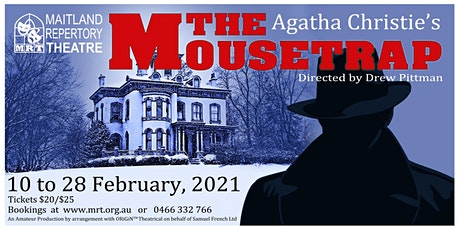 Agatha Christie's The Mousetrap tickets