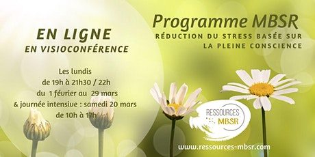Programme MBSR - en ligne (8 semaines - 9 séances) billets