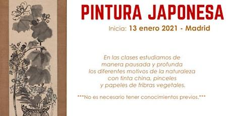 TALLER DE PINTURA JAPONESA para Jóvenes y Adultos en Madrid entradas