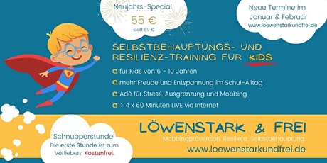 Löwenstark & Frei - Kostenfreie Schnupperstunde 16.01.2021 14-15 Uhr Tickets