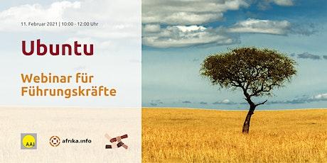 Ubuntu: Webinar für Führungskräfte Tickets