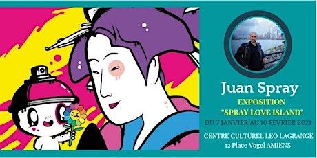 Vernissage de l'exposition de Juan Spray billets