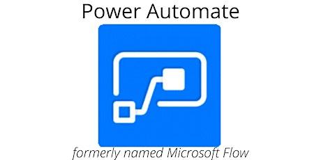 4 Weekends Microsoft Power Automate Training Course Woodbridge tickets