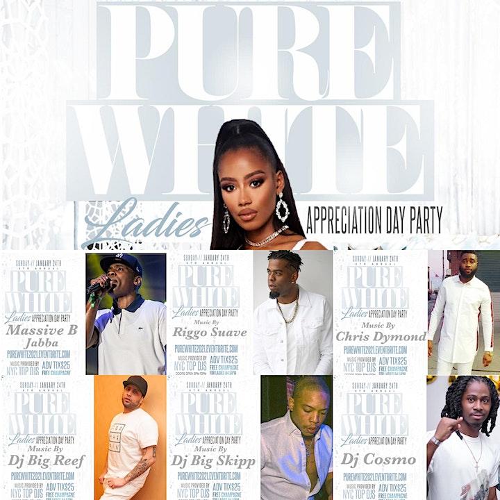 6th Annual Pure White Ladies Appreciation image