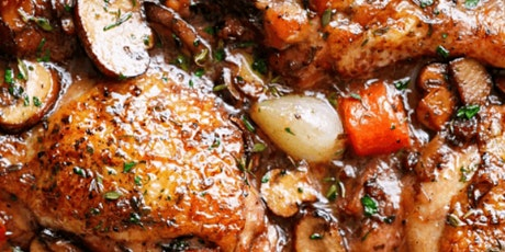 In-Person Class: French Bistro For Two: Coq au Vin (DC) tickets
