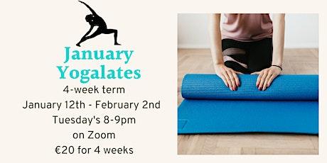 Tuesday Yogalates (Yoga/Pilates mix) on Zoom tickets