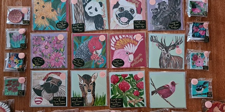 Hand paint your own original card. tickets