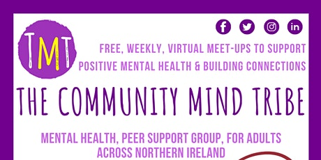 The Community Mind Tribe (Mental Health Peer Support Group) tickets