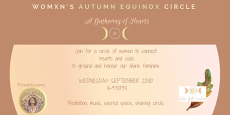 AUTUMN EQUINOX WOMXN'S CIRCLE SANCTUARY tickets
