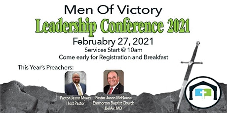 Men of Victory Leadership Conference 2021 tickets