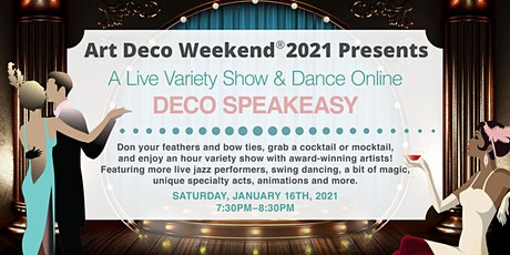 Saturday Deco Speakeasy: Art Deco Weekend 2021 tickets