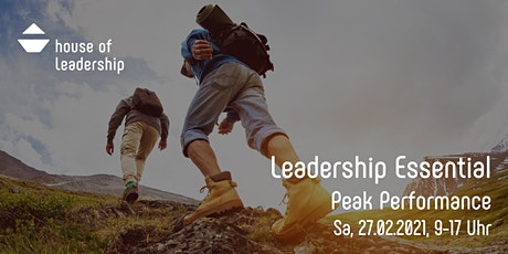 Leadership Essential II - Peak Performance tickets