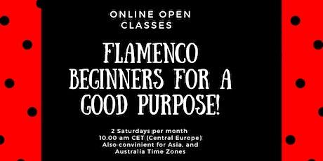 FREE/Online Flamenco Beginners tickets