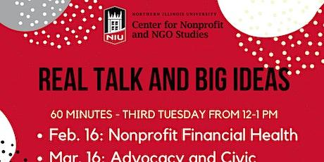 Real Talk and Big Ideas: Nonprofit Financial Health tickets