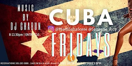 CUBA Fridays at Cubaocho feat Dj Charun tickets