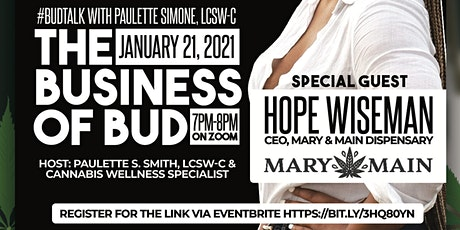 #BudTalk with Paulette Simone, LCSW-C tickets