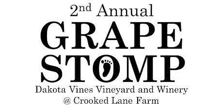 2nd Annual Dakota Vines Grape Stomp @ Crooked Lane Farm tickets