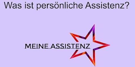 Was ist Assistenz? Schulung für Assistenznehmer*innen. Tickets