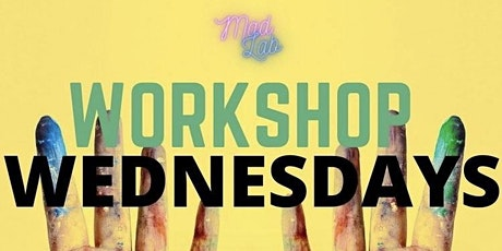 WorkShop Wednesdays : Peace & Paint Workshop hosted by Tayler and Evan tickets