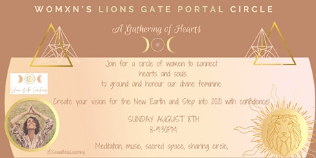 Lions Gate Portal- Womxn's Circle Sanctuary tickets