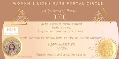 Lions Gate Portal- Women's Circle Sanctuary tickets