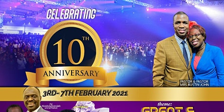10th Year Anniversary - Praise/Award Night tickets