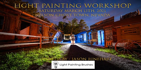 Ghost Town Light Painting Workshop, Nelson Nevada tickets