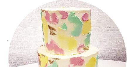Cake decorating workshop tickets