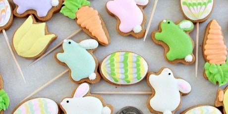 Easter cookie boxes tickets