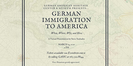 German Immigration to America: When, Where, Why, and How tickets