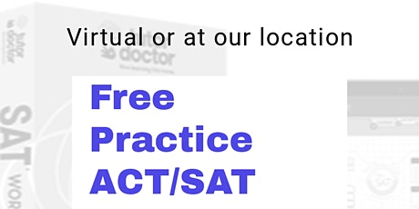 Free SAT/ACT Practice Exam tickets