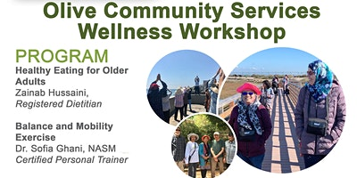 Wellness Workshop by Olive Community Services