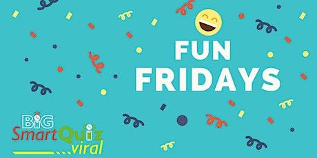 Fun Friday QUIZ: SpeedQuizzing based, easy and very slick online pub quiz tickets