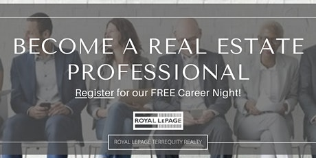 Real Estate as a Career - Virtual Seminar tickets