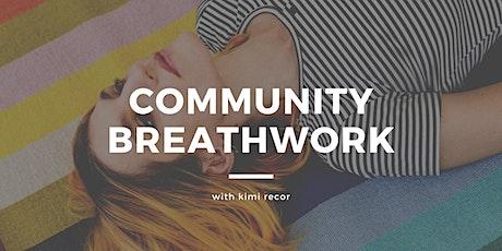 community breathwork tickets