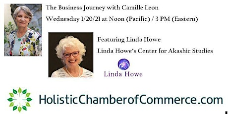 The Business Journey with Camille Leon - Featuring Linda Howe tickets