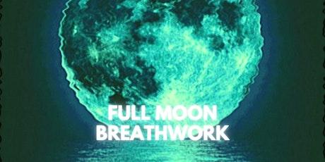 January  Full Moon Breathwork Circle tickets