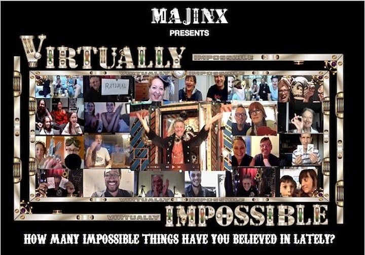 MAJINX's  VIRTUALLY IMPOSSIBLE SHOW image