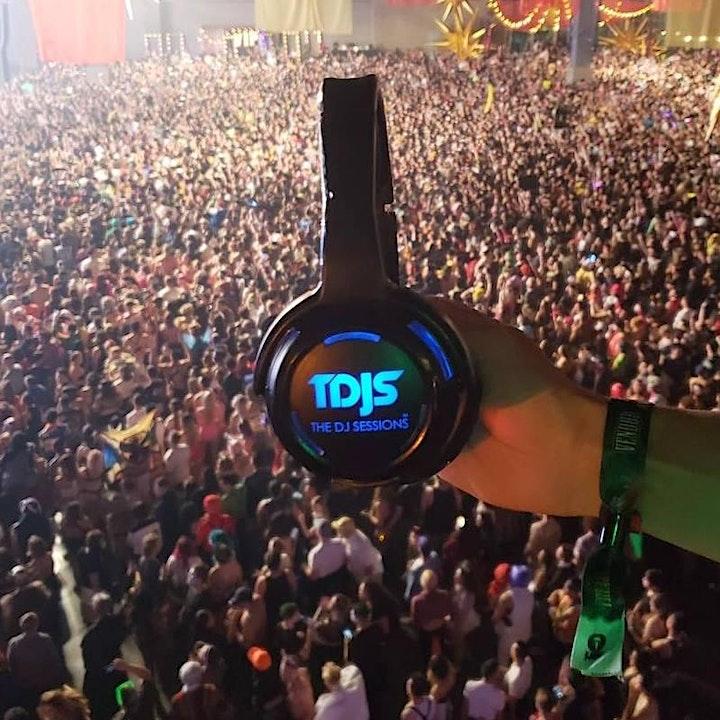 "The DJ Sessions presents ""Silent Disco"" Saturday's 1/30/21 image"