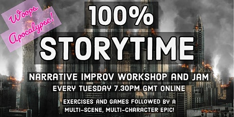 100% STORYTIME: Woops Apocalypse! tickets