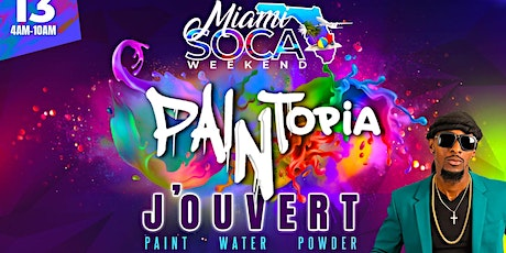 PAINTOPIA JOUVERT tickets