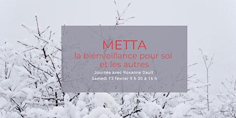 Metta, la bienveillance pour soi et les autres - une journée de méditation billets