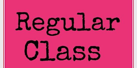 Regular Class tickets