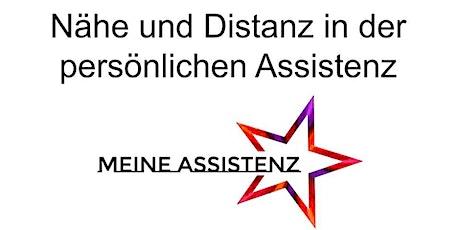 Nähe und Distanz Schulung für Assistent*innen tickets